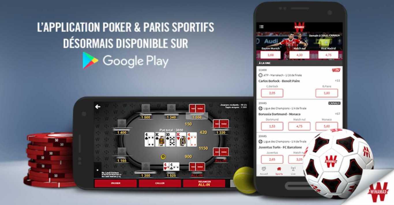 Avantages du jeu au poker après télécharger le programme de Winamax